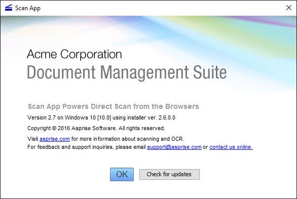 Order Scanner js: JavaScript web TWAIN WIA scanning in web