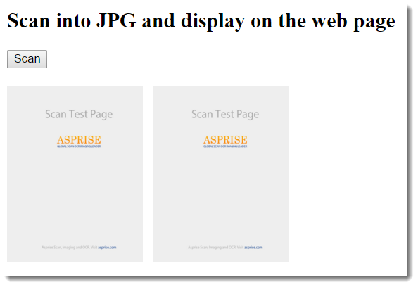 Scanner js: JavaScript web TWAIN WIA scanning in web browsers Chrome